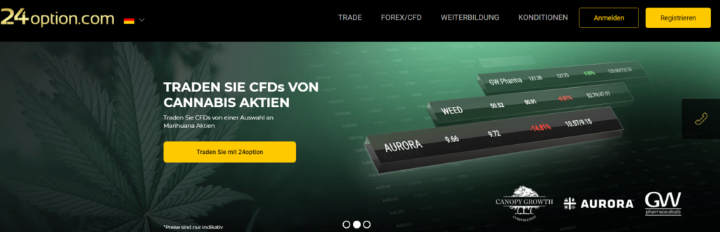 24option aktien-cfds
