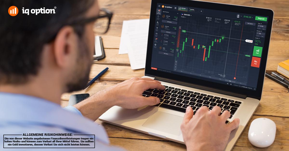 IQ Option richtet sich an verschiedene Trader-Typen