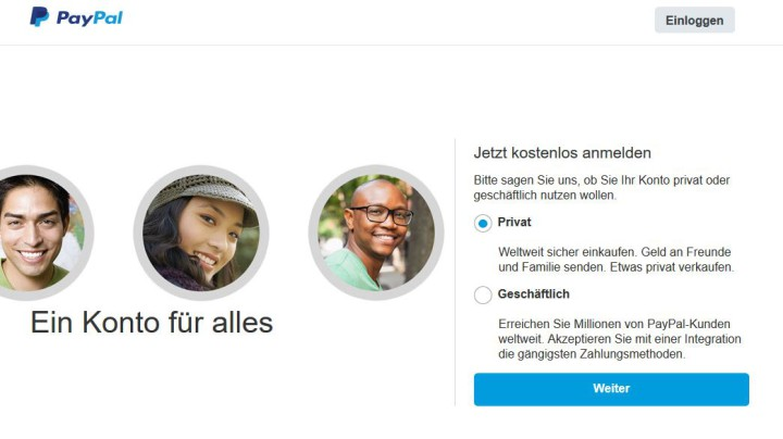 PayPal Konto für Binäre Optionen.
