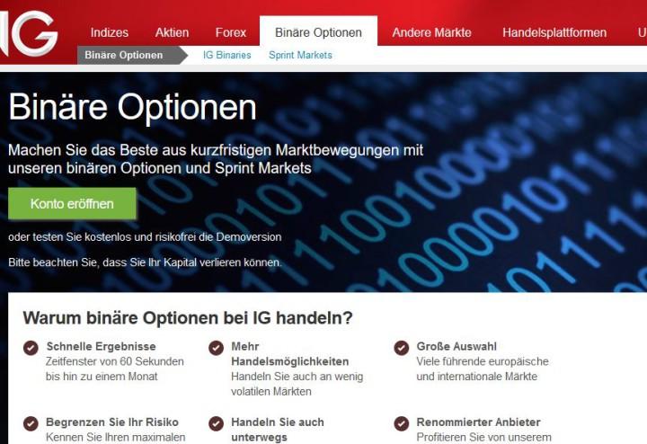 binäre optionen broker deutschland
