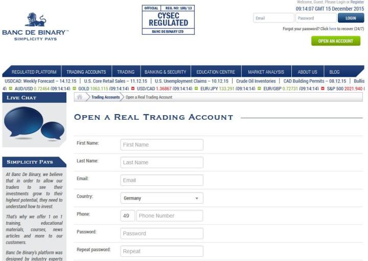 Binäre Optionen mit minimalen Einzahlungsrezensionen