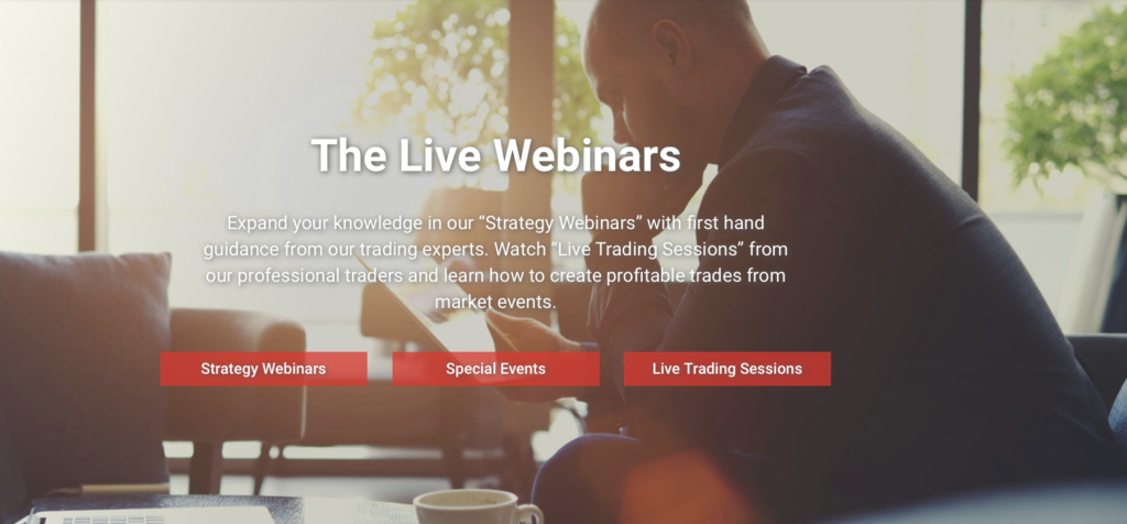 Live Webinars bei BDSwiss