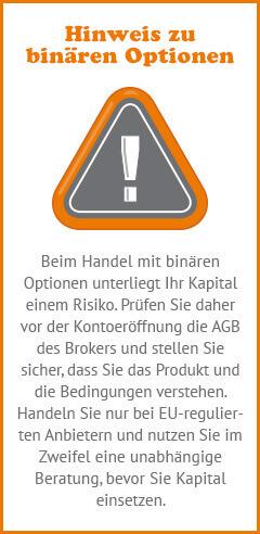 BO Risikohinweis